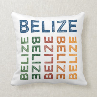 Belize Cute Colorful Cushion