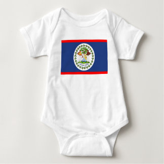 Belize flag country symbol baby bodysuit