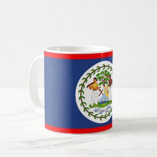 Belize flag country symbol coffee mug