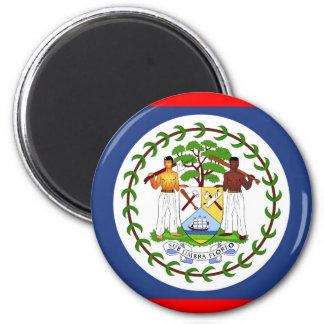 Belize flag country symbol magnet