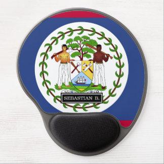 Belize Flag Gel Mouse Pad