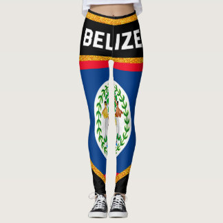 Belize Flag Leggings