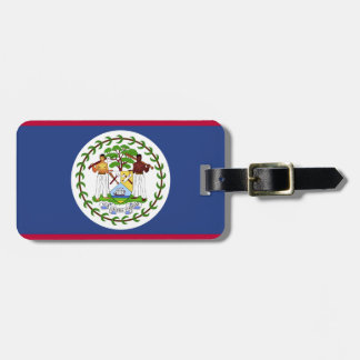 Belize Flag Luggage Tag