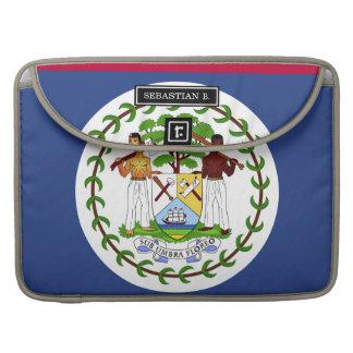 Belize Flag MacBook Pro Sleeve
