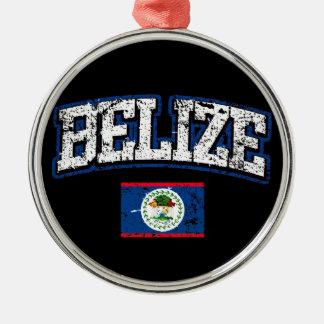 Belize Flag Metal Ornament