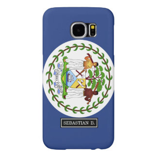 Belize Flag Samsung Galaxy S6 Cases
