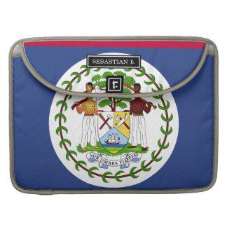 Belize Flag Sleeves For MacBooks