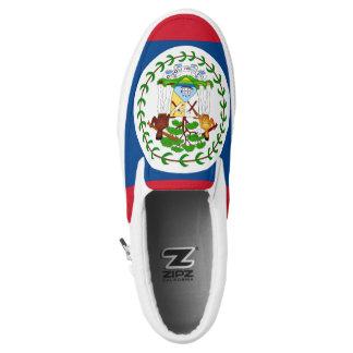 Belize Flag Slip-On Shoes