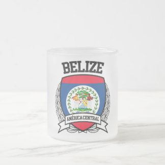 Belize Frosted Glass Coffee Mug