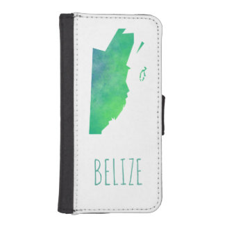 Belize iPhone SE/5/5s Wallet Case