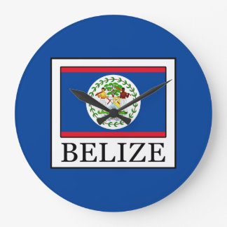Belize Large Clock