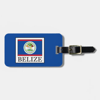 Belize Luggage Tag