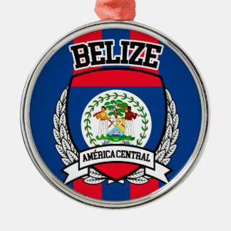 Belize Metal Ornament