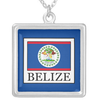 Belize Silver Plated Necklace