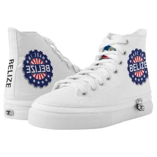 Belize Zipz High Top Shoes, US Men 4 / US Women 6