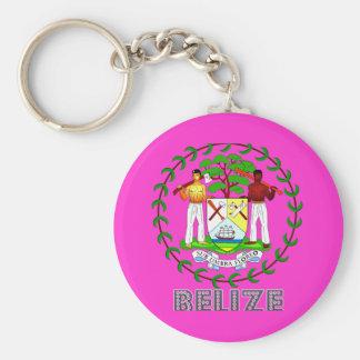 Belizean Emblem Key Ring