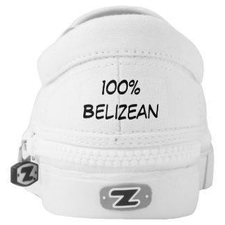 Belizean Flag Shoes Printed Shoes