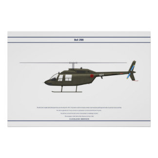 Bell 206 Albania 1 Poster