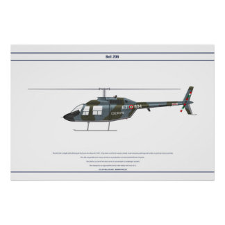 Bell 206 Italy 1 Poster