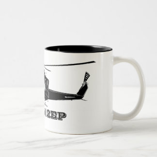 Bell_412_EP_white, Bell 412EP Two-Tone Coffee Mug