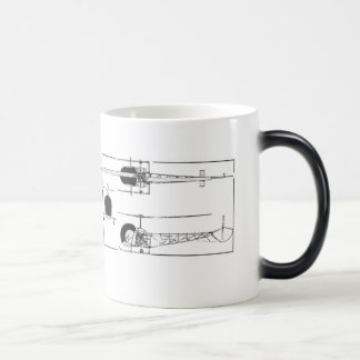 Bell 47 Helicopter Coffee Mug