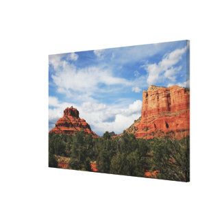 Bell and Courthouse Rock Canvas Print