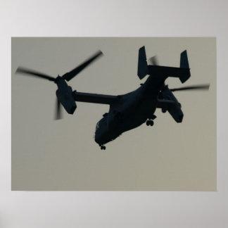 Bell-Boeing V-22 Osprey. Poster