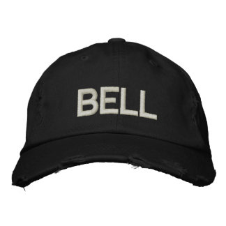 BELL (EMBROIDERED CUSTOMIZE) EMBROIDERED HAT