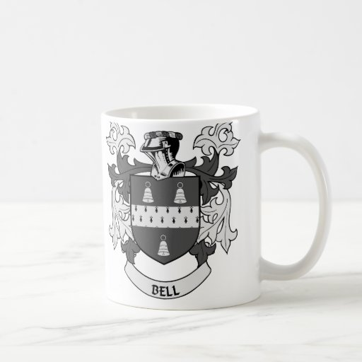 BELL Family Crest Mugs
