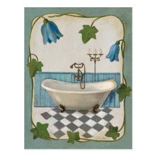 Bell Flower Bath Post Cards