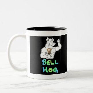 Bell Hog Two-Tone Mug