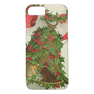 Bell Holly Red Ribbon Berry Garland iPhone 7 Case
