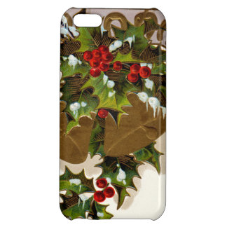 Bell Holly Snow Gold Horseshoe iPhone 5C Cases