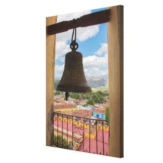 Bell in a church tower, Cuba Canvas Print
