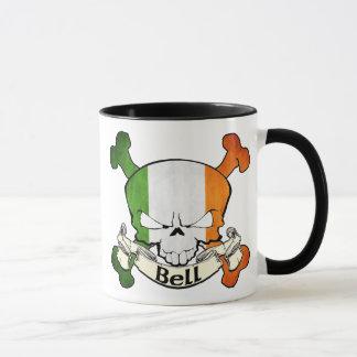 Bell Irish Skull Mug
