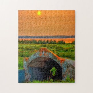 Bell Island Mine slope Jigsaw Puzzle