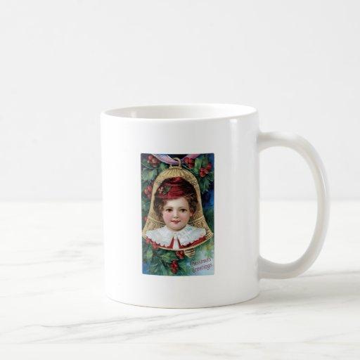 Bell on Christmas Tree Mug