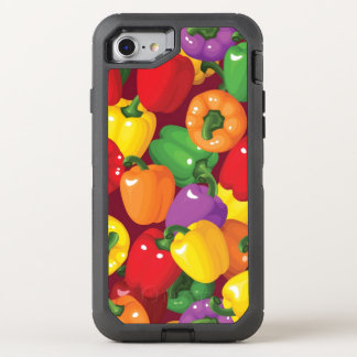 Bell Pepper Pattern OtterBox Defender iPhone 7 Case