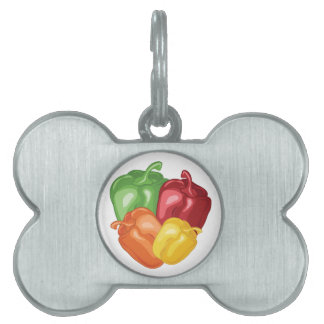 Bell Peppers Pet Tag