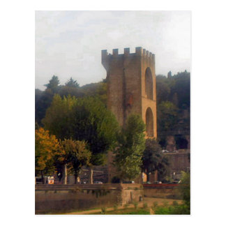 Bell Tower in Florence Postcard