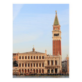 Bell Tower, Piazza San Marco, Venice Postcard