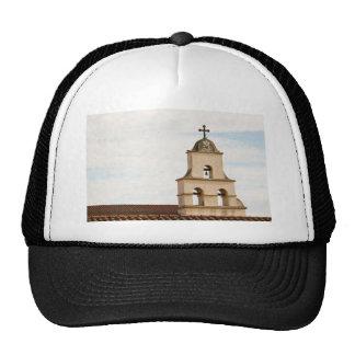 Bell Tower Santa Barbara Mission Trucker Hat
