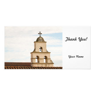 Bell Tower Santa Barbara Mission Picture Card