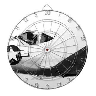 Bell_XP-77_in_flight_(SN_43-34916) Dartboard