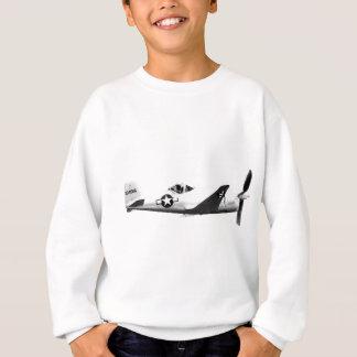 Bell_XP-77_in_flight_(SN_43-34916) Sweatshirt