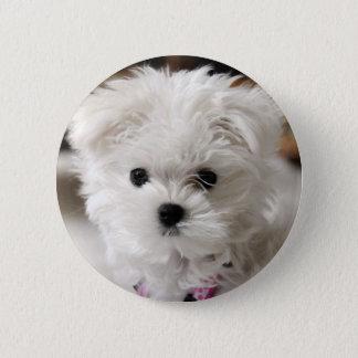 Bella 6 Cm Round Badge
