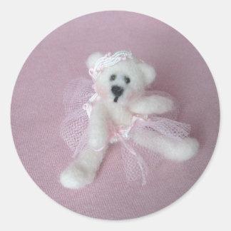 Bella Ballerina Bear Stickers