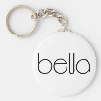 Bella black Keychain