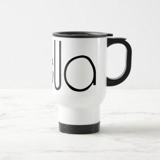Bella black Travel Mug