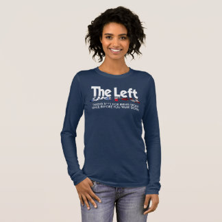 Bella+Canvas Long Sleeve T - The Left, Defined... Long Sleeve T-Shirt